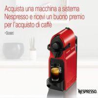 Nespresso: 80 euro di cialde omaggio acquistando macchinetta