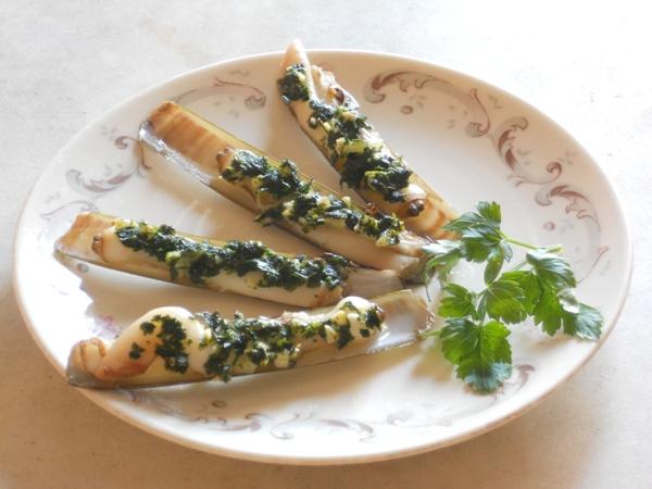 Cannolicchi al prezzemolo ed aglio