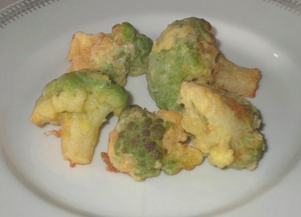 Cime di cavolo verde fritte con erbe aromatiche