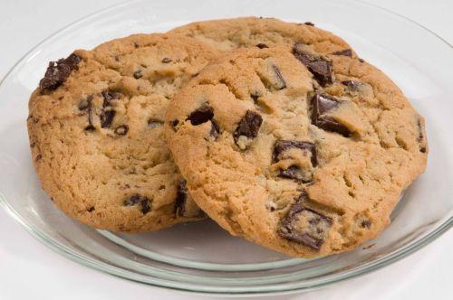 Cookie americani al cioccolato