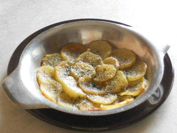 Fiore di patate al forno