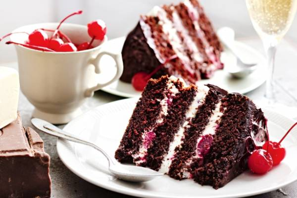 Ghiardelli Dark Chocolate Black Forest Cake