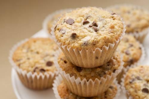 Mini muffin cocco e cioccolato