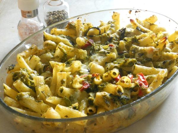 Molto Pasta al forno vegetariana con friarielli e peperoni, ricetta  GD07