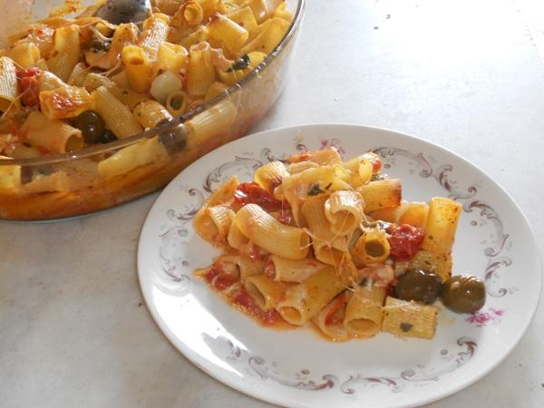 Pasta in forno alla Mediterranea