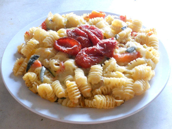 Pasticcio di pasta vegetariano