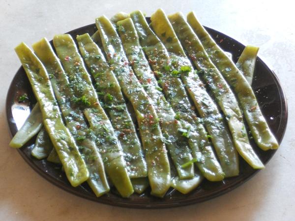 Piattoni al prezzemolo aglio e misto pepe