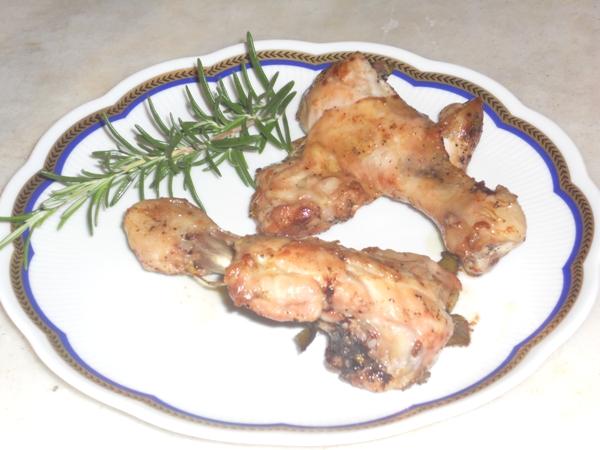 Schiacciatine di pollo al pepe rosa e Pinot rosa