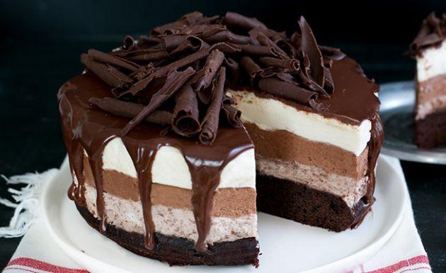 Torta sette veli al cioccolato