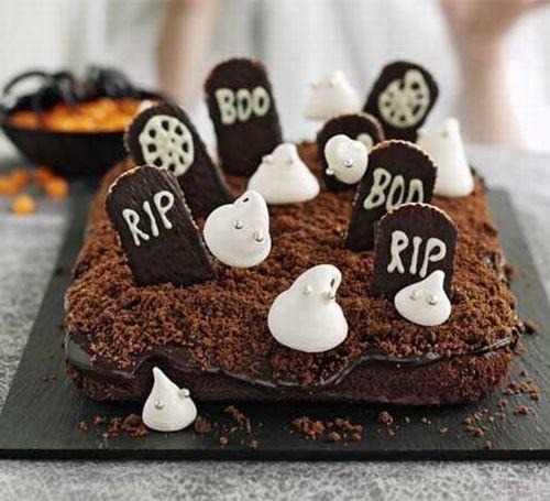 Torta cimitero al cioccolato