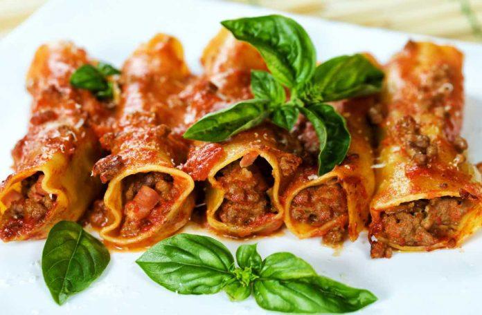 ricetta cannelloni