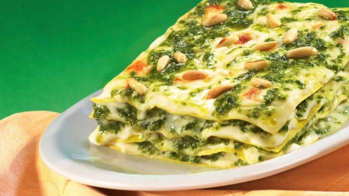 ricetta lasagna al pesto