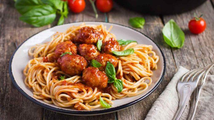 ricetta pasta con polpette