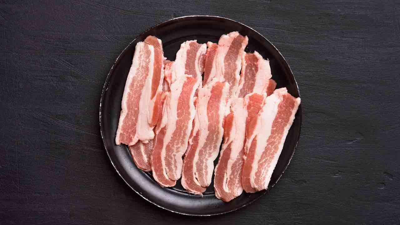 bacon a fette