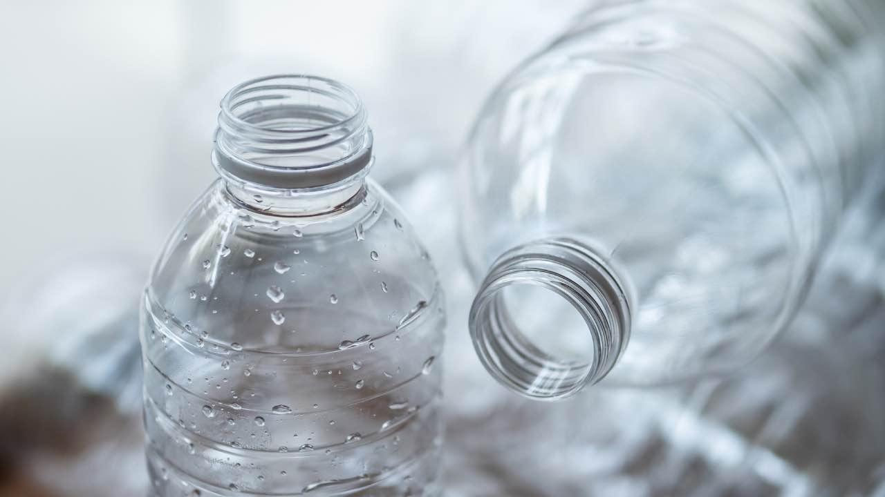 ricetta con bottiglia
