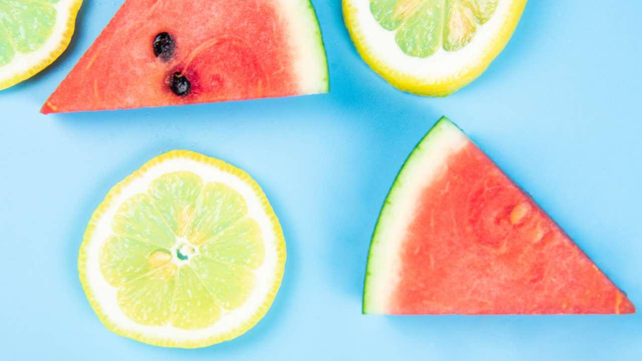 ricetta cocomero e limone