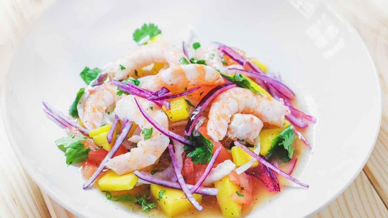 ricetta insalata tropicale