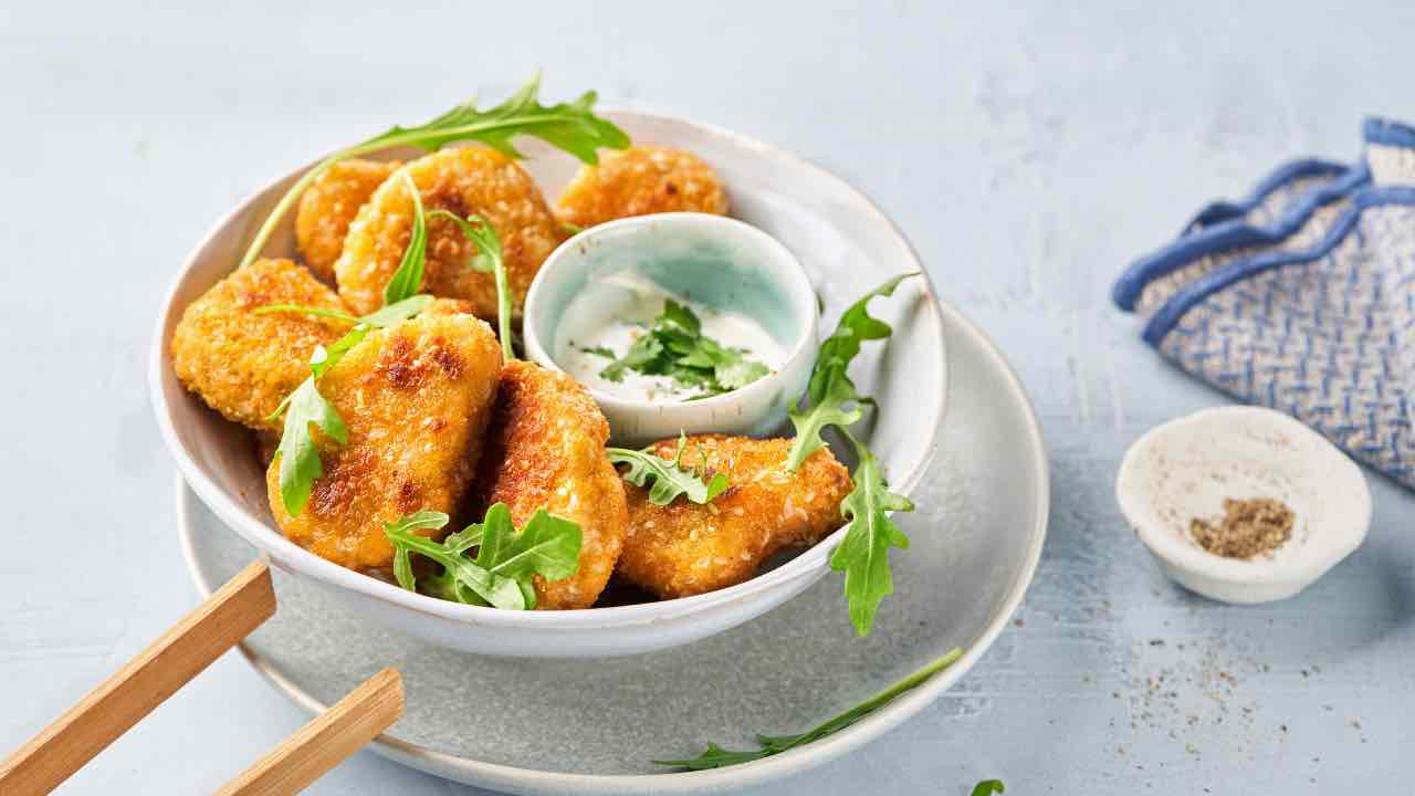 ricetta Nuggets vegani