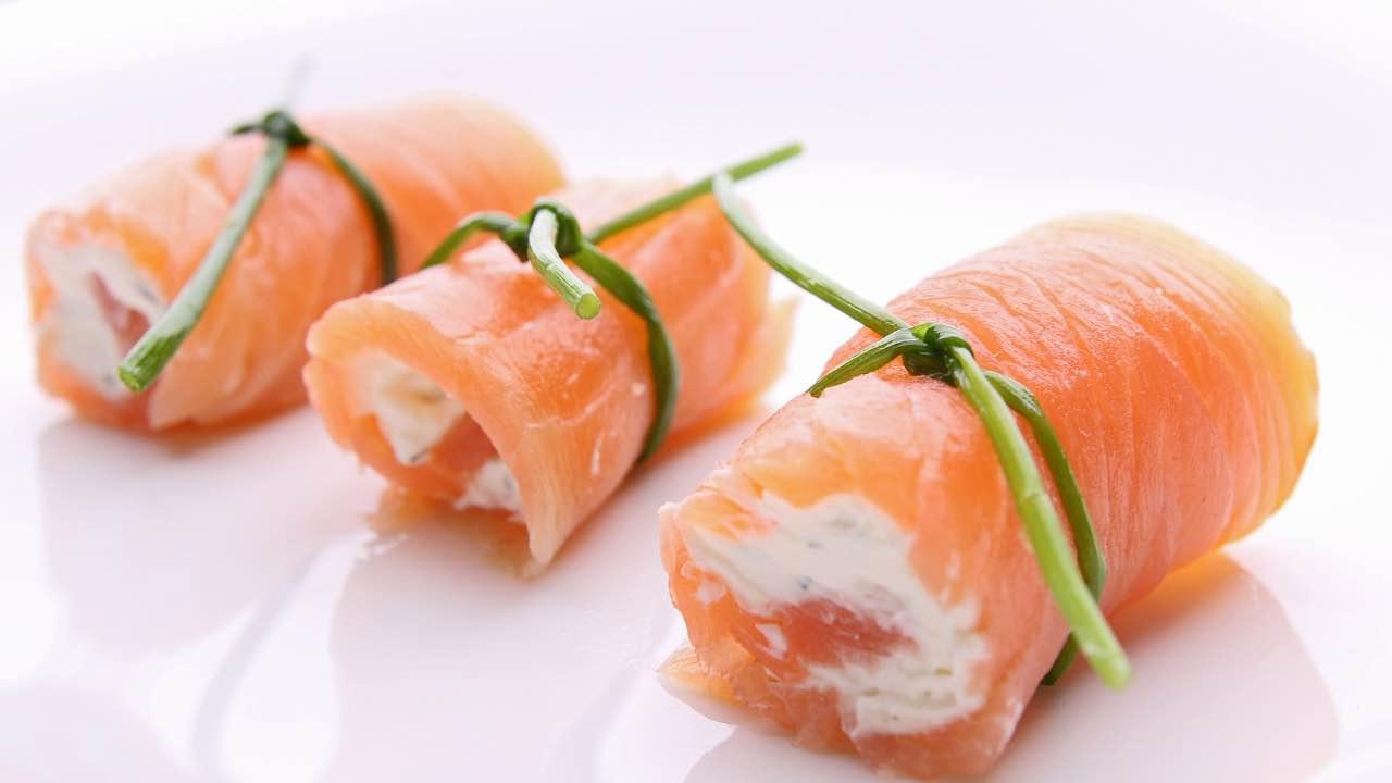 ricetta rotolo salmone