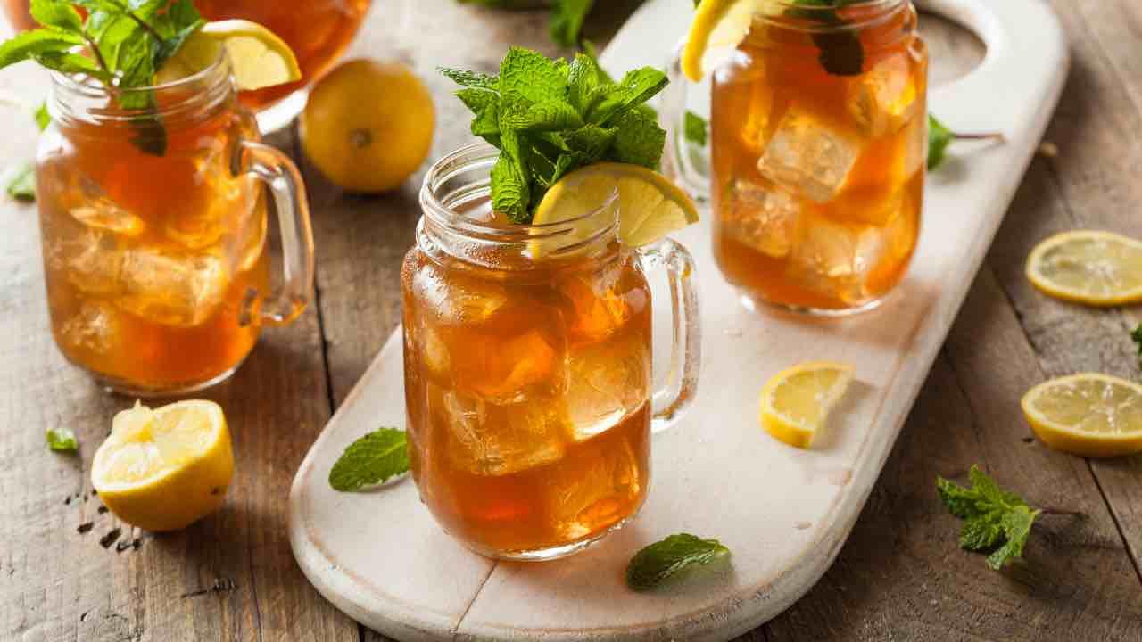 ricetta tè al limone