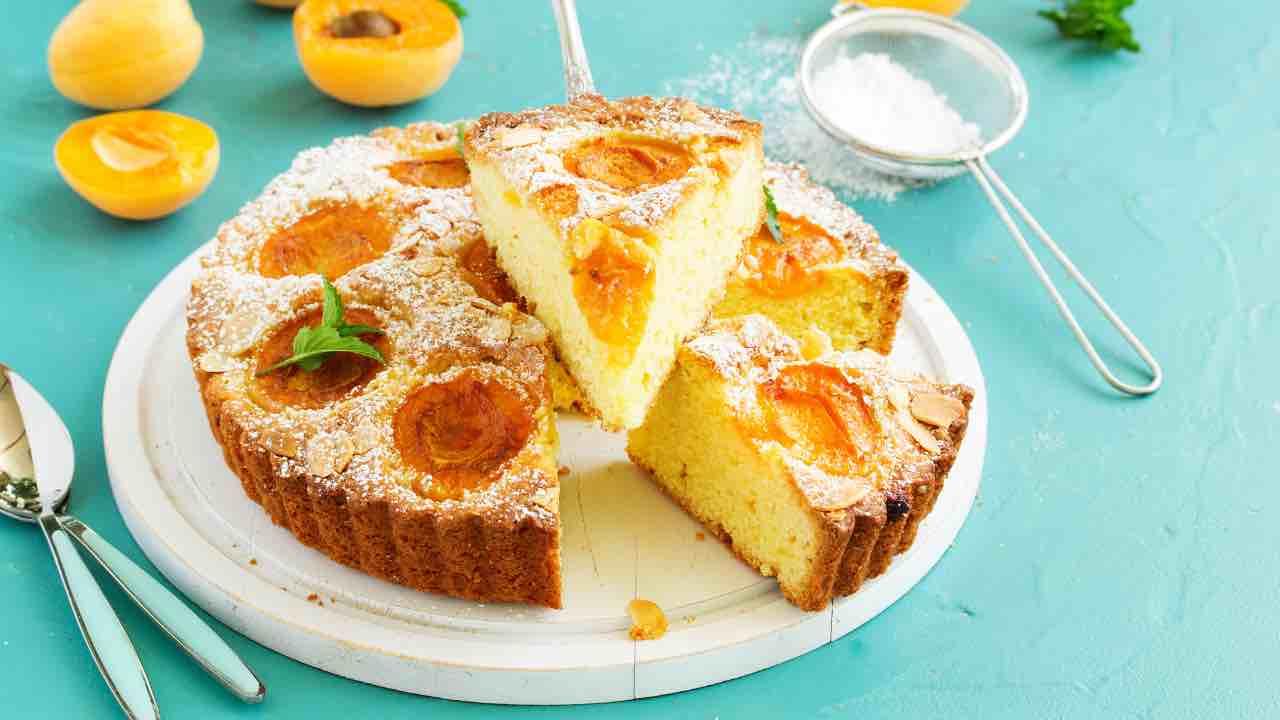 ricetta torta all'albicocca