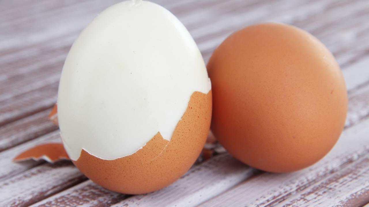 uova da sbucciare