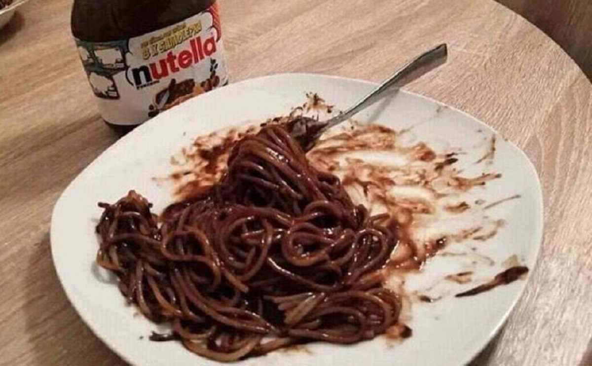 nutella pasta